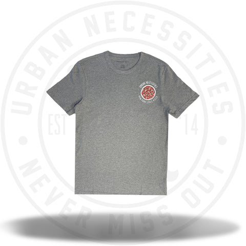 UN Two J's Pizza Tee (Grey)-Urban Necessities