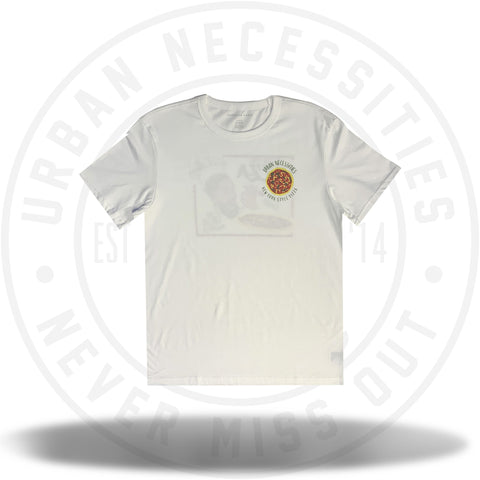 UN Two J's Pizza Tee (White)-Urban Necessities