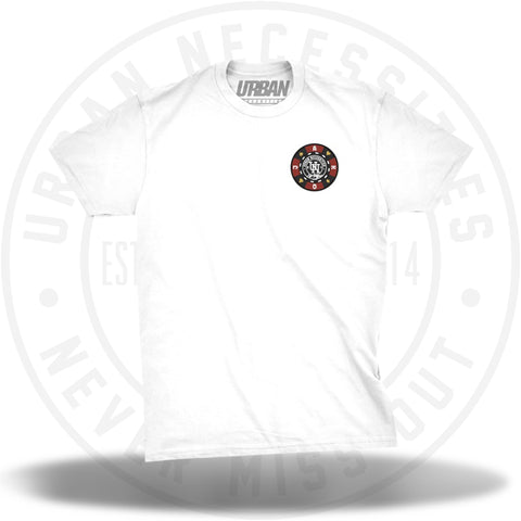UN Vegas Chip Tee White-Urban Necessities