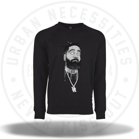 UN X TwoJskicks Crewneck Black-Urban Necessities