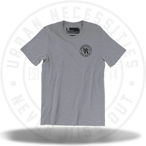UNYC Stamp Tee Grey-Urban Necessities