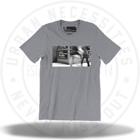 UNYC Station Tee Heather Grey-Urban Necessities