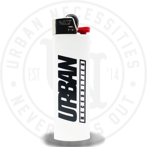 Urban Necessities Bic Lighter White-Urban Necessities