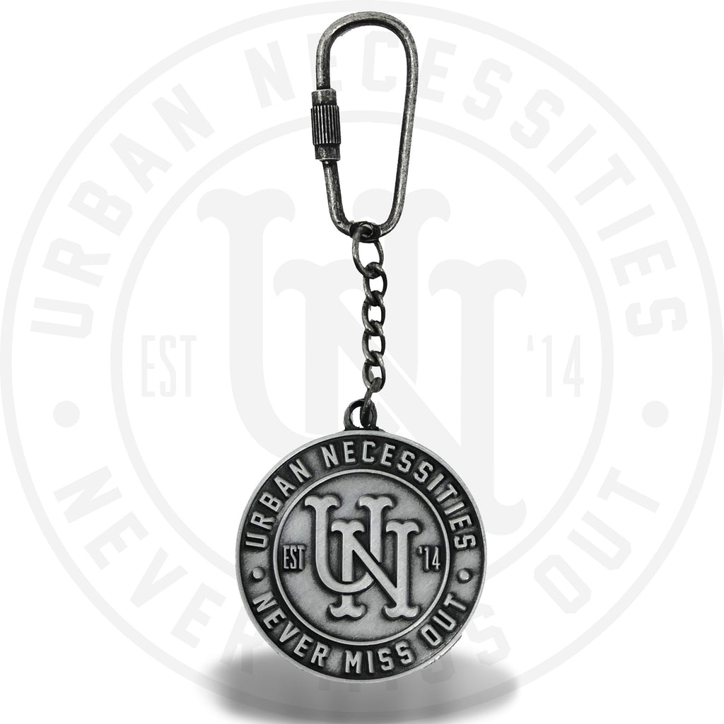 Urban Necessities Metal Keychain-Urban Necessities