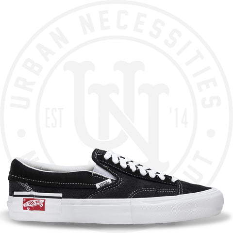 Vans Vault Slip-on 'Cap LX' Black VN0A3TKS6BT-Urban Necessities