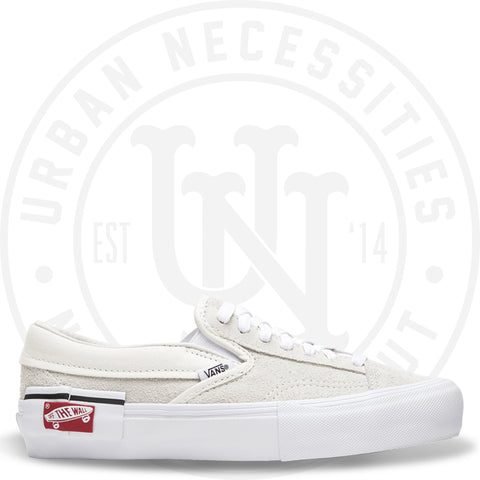 Vans Vault Slip-on 'Cap LX' White VN0A3TKSUC0-Urban Necessities