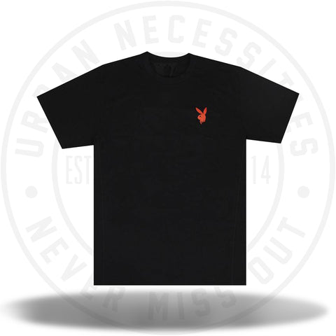 Vlone x Playboy Bunny T-Shirt 'Black/Red'-Urban Necessities