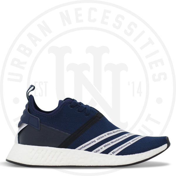online store 54043 4e6c2 White Mountaineering x NMD R2 PK Navy - BB3072