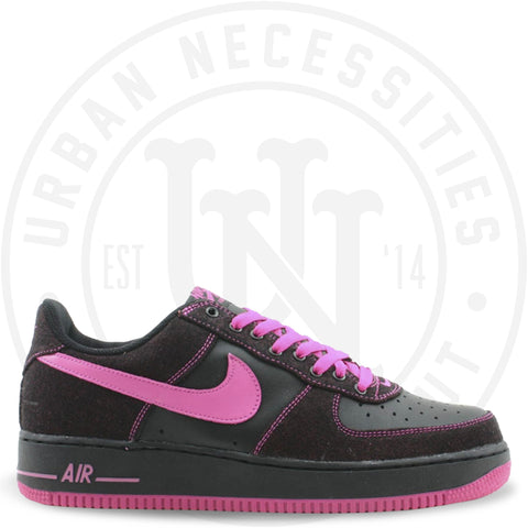Wmns Air Force 1 Black/Pink - 307109 064-Urban Necessities