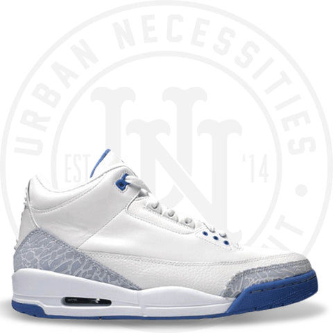 Wmns Air Jordan 3 Retro 'Harbor Blue' - 315296 142-Urban Necessities