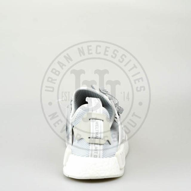 adidas originali nmd rt formatori in bb3684 vintage white