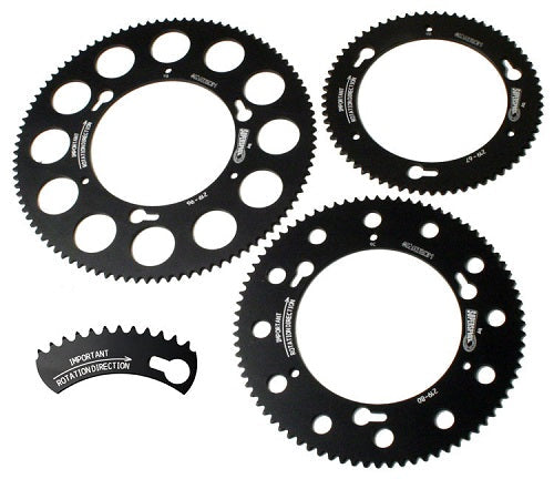 Sprocket Axle Goldspeed/Kartech 219p