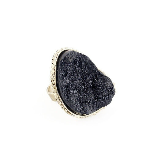 Fashion Ring - Vera Vintage Fashion Ring With Big Stone
