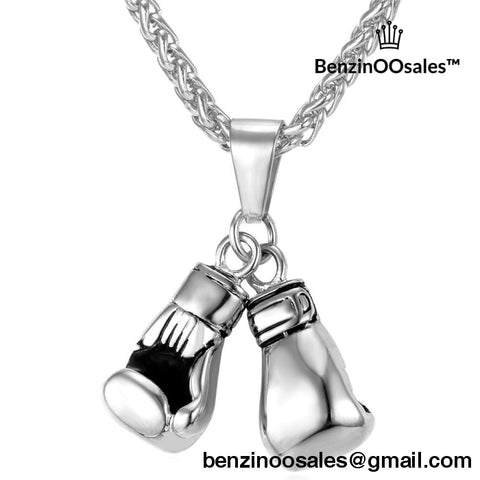 18k Gold Plated Boxing Glove Necklace