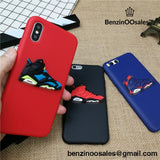 3D AIR Jordan 6 Sports Shoes phone cover case for iPhone X XS MAX XR 10 8 7 6 6S plus 5 5s matte soft silicone -yeezy boostv2-ua-hypebeast-designer replicas clothing