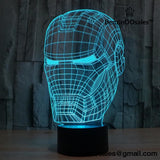 Action figure 3D Visual LED light -yeezy boostv2-ua-hypebeast-designer replicas clothing