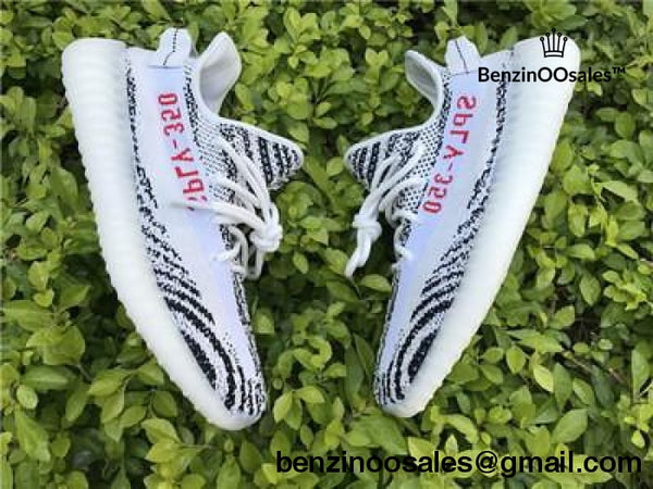 ADIDAS X YEEZY BOOST 350 V2 white with white stripe and red writing ''ZEBRA'' -yeezy boostv2-ua-hypebeast-designer replicas clothing