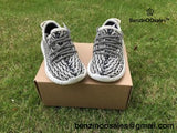 ADIDAS YEEZY BOOST 350 V1 TURTLE DOVE for TODDLER/KIDs -yeezy boostv2-ua-hypebeast-designer replicas clothing