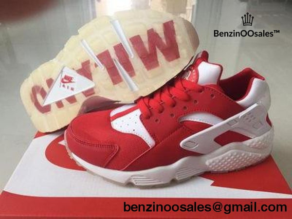 Air Huarache red and white -yeezy boostv2-ua-hypebeast-designer replicas clothing