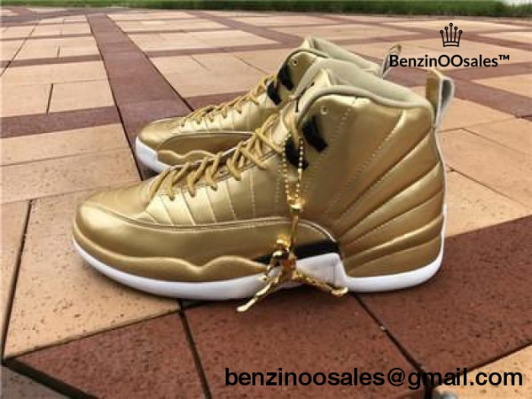 AIR Retro Jordan 12 pinnacle Gold -yeezy boostv2-ua-hypebeast-designer replicas clothing