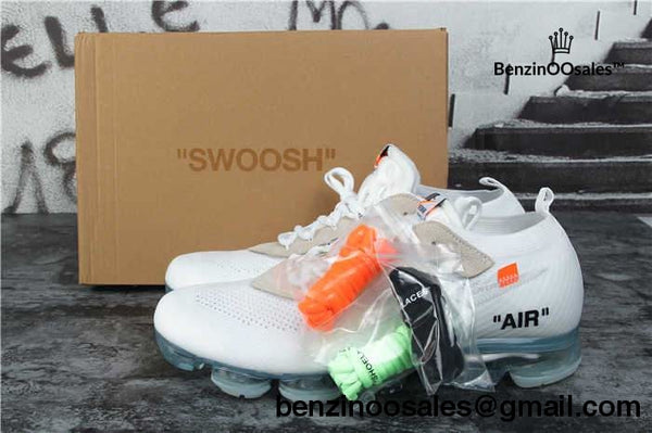 ALL WHITE OFF-WHITE Virgil Abloh x Nike Air Vapormax collaboration sneaker -yeezy boostv2-ua-hypebeast-designer replicas clothing