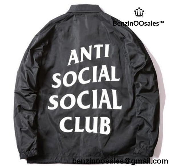 ANTI SOCIAL SOCIAL CLUB wind breaker jacket -yeezy boostv2-ua-hypebeast-designer replicas clothing