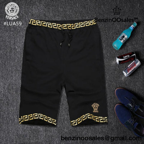 black and white Versace shorts -yeezy boostv2-ua-hypebeast-designer replicas clothing