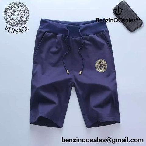 Blue Versace shorts -yeezy boostv2-ua-hypebeast-designer replicas clothing