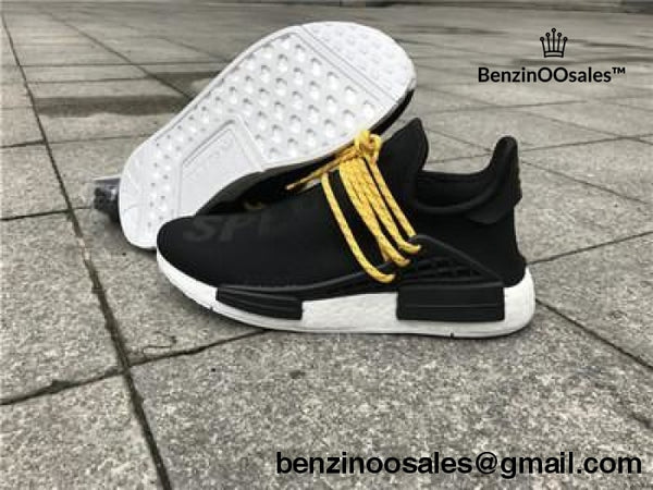 Boost Pharrell Williams x adidas HU NMD Human Specials in Black -yeezy boostv2-ua-hypebeast-designer replicas clothing