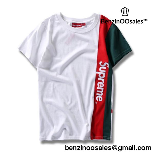 Colorful side supreme tshirts -yeezy boostv2-ua-hypebeast-designer replicas clothing