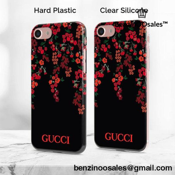 custom made to order gg brand red roses cool iphone and android phone case -yeezy boostv2-ua-hypebeast-designer replicas clothing