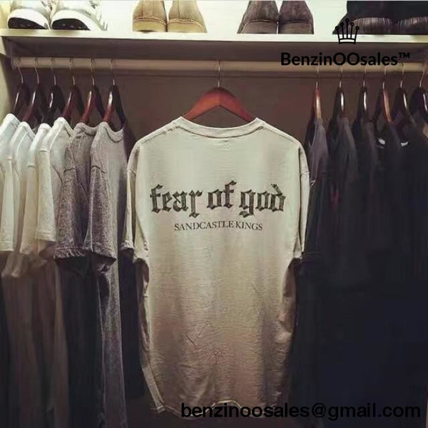 Fear Of God T Shirt -yeezy boostv2-ua-hypebeast-designer replicas clothing