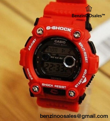 G-shock watches (red, blue and brown) -yeezy boostv2-ua-hypebeast-designer replicas clothing
