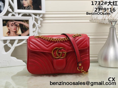 GG brand women handbag (red, black, pink, White) -yeezy boostv2-ua-hypebeast-designer replicas clothing