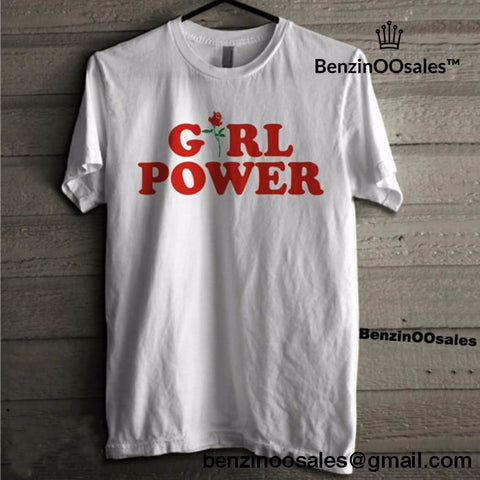 Girl Power women tshirt -yeezy boostv2-ua-hypebeast-designer replicas clothing