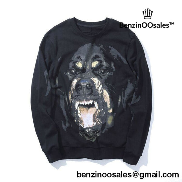 GIVENCHY ANIMAL dog PULLOVER SWEATER -yeezy boostv2-ua-hypebeast-designer replicas clothing