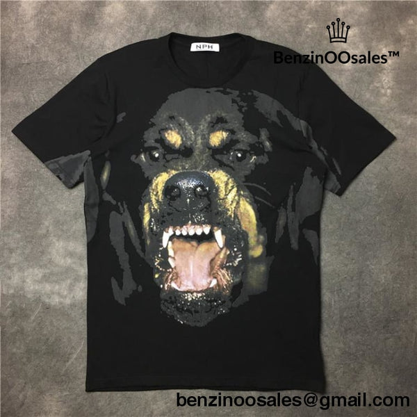 givenchy rotweiler dog tshirt (Assorted colors) AAAA+ Quality -yeezy boostv2-ua-hypebeast-designer replicas clothing