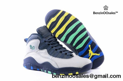 jordan 10 RIO colorway -yeezy boostv2-ua-hypebeast-designer replicas clothing
