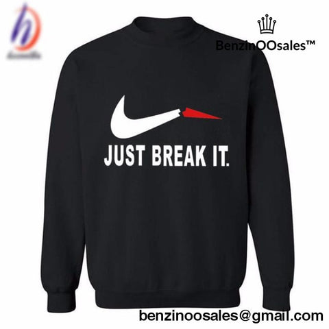 Just break it Nike parody -yeezy boostv2-ua-hypebeast-designer replicas clothing