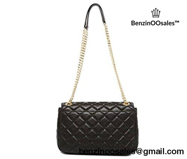 Michael Kors Shoulder Bag Quilted Leather Black -yeezy boostv2-ua-hypebeast-designer replicas clothing