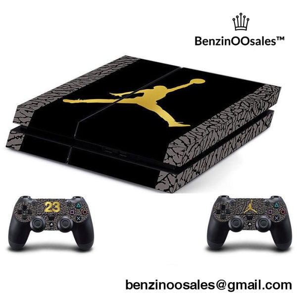 mj jordan ps4 skin cover -yeezy boostv2-ua-hypebeast-designer replicas clothing