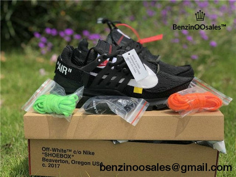 New UA Replica Off-white X Nike Presto (All black & Gray available) -yeezy boostv2-ua-hypebeast-designer replicas clothing