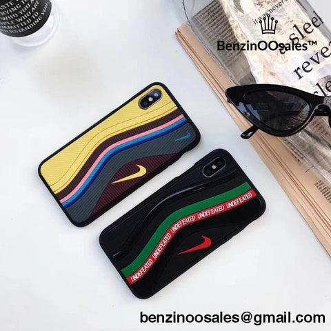 Nike Air Max 1/97 Sean Wotherspoon OR nike air max undefeated themed canvas phone iPhoneX/XR 7/8plus 3D Undefeated Air Max 97 Shoe Case -yeezy boostv2-ua-hypebeast-designer replicas clothing