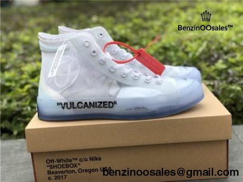 OFF-WHITE X NIKE converse hightop sneaker -yeezy boostv2-ua-hypebeast-designer replicas clothing