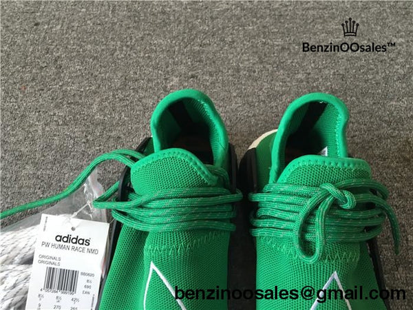 Pharrell Williams X Adidas Nmd Human Race Green Sneaker