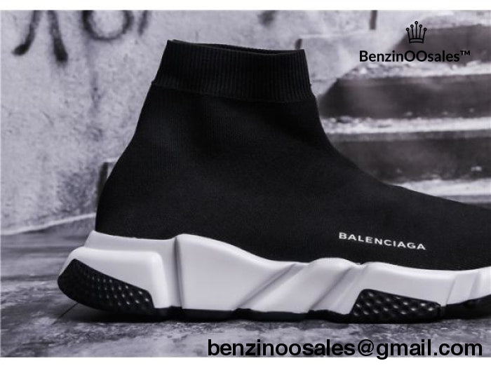Replica Balenciaga speed trainers with tri color black bottom sole and –  BenzinOOsales 685a80282243