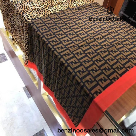 Replica Ua High Quality Fendi Brand Monogram Scarf