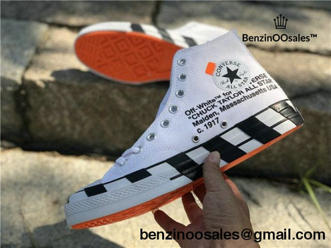 Replica Ua High Quality Off White X Converse Chuck Taylor Zebra Crossing Colorway
