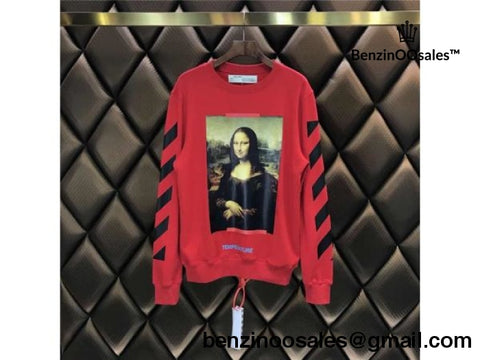 Replica Ua Off-White Monalisa Temprature Longsleeve Tshirt And Hoodie