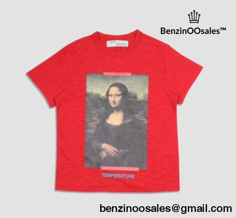 Replica Ua Off-White Monalisa Temprature Tshirt